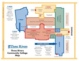 Norwich Campus Map.Campus Map Trcc Extranet