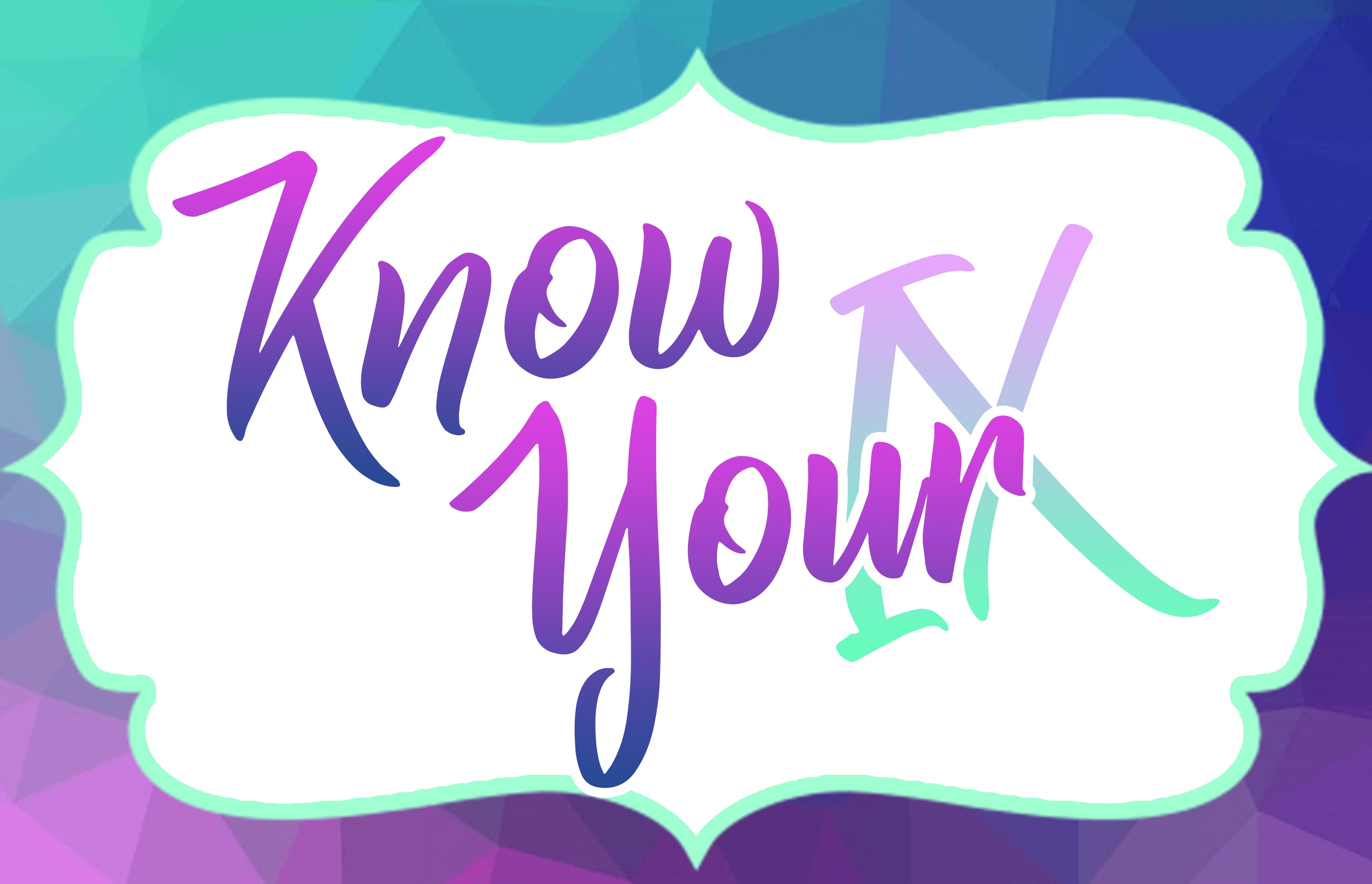 """bubble containing """"Know Your IX"""""""